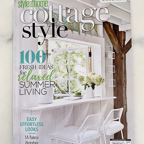 Cottage Style  <br /> <span>october 2019</span>